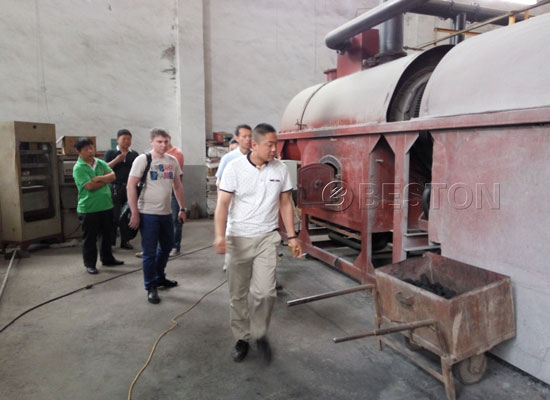 Palm Shell Charcoal Making Machine